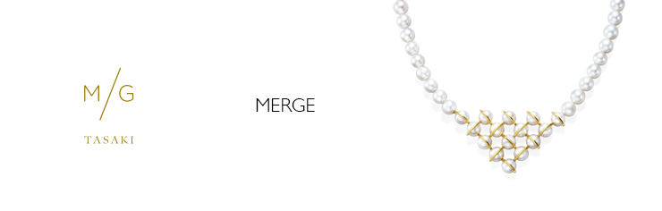 M/G TASAKI MERGE NECKLACE